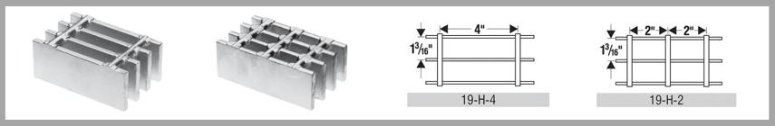 """heavy duty welded grating"",""expanded steel grating"",""steel grating stair treads""19 Space - Heavy Duty Welded"